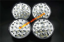 "5-3/4"" H5001/H5006 36W Round LED Headlights Sealed Beam Light Spot Flood Beam x4"