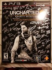 Very rare uncharted autographed collectors promo