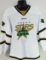 Reebok Dallas Texas Stars Junior Hockey Jersey Adult Small White EUC NHL CCM