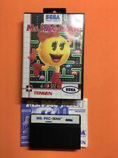 Gioco Ms.Pac Man Sega Master System Pal Ita Boxato Completo