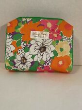 💄 Clinique Tracy Reese Makeup Bag 💄 Zip Pouch 👄 Travel 🧳 Lovely Floral Print