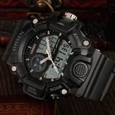 Army G Sport Style Digital Military Water Proof Shock Date Watch Quartz Black