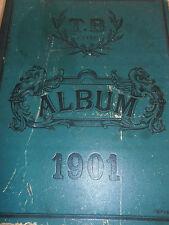 Catalogue de fournitures d'ébénisterie 1901 ( ref 1 )
