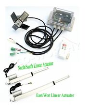 Dual Axis solar tracking system -Solar Tracker Tracking Dual Axis Complete Kit
