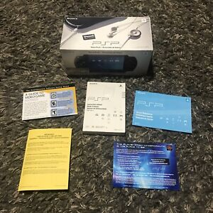 Sony PSP Playstation Portable Replacement Box With Original Paperwork