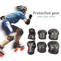Knieschutz Ellbogenschützer Hand Skateboard Skate Schutz Protektoren Set 6pc Set