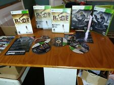 Xbox 360 Halo Combat Evolved Anniversary & Rage Anarchy Edition,  collectors