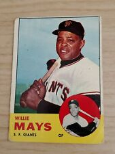 New listing 1963 Topps #300 Willie Mays