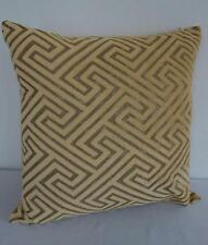 Yellow + Charcoal Softest Velvet Cushion Cover 45cm
