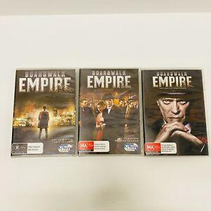 Boadwalk Empire Seasons 1-3 DVD - Region 4 - Free Tracked Postage