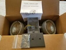 NEW IN BOX Lithonia ELA B T NX H0606 Sealed Remote Gray Twin NX Halogen 6W 6V