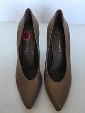 """B Makowsky """"Marcy"""" Light Brown   Women Leather Pumps Size 6"""
