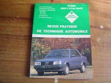 REVUE TECHNIQUE L'EXPERT AUTOMOBILE FIAT REGATA 70 - 85 S automatique diesel DS