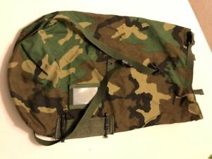 US ARMY NBC Carrier Bag  Woodland Camouflage