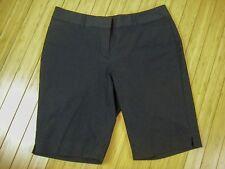White House Black Market Stretch Bermuda Shorts Size 8 Retail $54.50