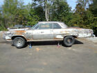 1964 Ford Mustang  1964 PONTIAC CATALINA SUPER SOLID RUNS GREAT PROJECT     LOOK AT THE INTERIOR