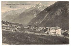 Ak Gasthaus Edelweiß Oberfernag Schnalstal 1910er !