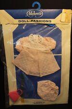"Vintage - Majorette Co. Doll Fashion - Pink Dot Dress - 10"" & under Baby doll"