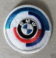 Vintage Sew-on Patch BMW Motorsport, early logo