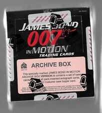 Factory Sealed James Bond In Motion Archive Box A +B