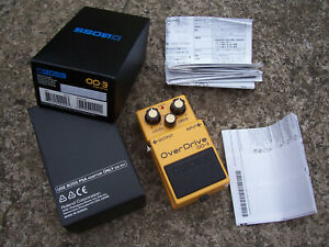Boss OD-3 OD3 overdrive pedal electric guitar