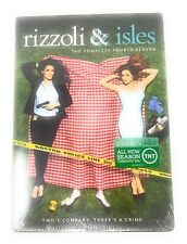 RIZZOLI & ISLES TV SERIES THE COMPLETE FOURTH SEASON 4 New Sealed