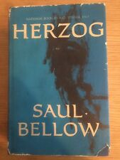 RARE Autographed / Signed Herzog by Saul Bellow 1964 -16th Print Hardcover