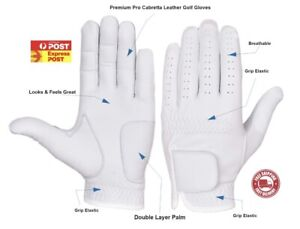 Full Cabretta Leather Great Quality Golf Gloves