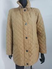 Burberry London parka jacket size 36 beige 100% Polyester womens
