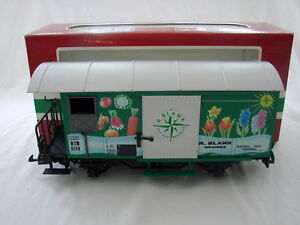LGB 4128 R. Blank Graines Montreux Box Car With Sliding Door