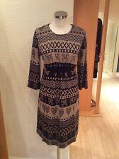 James Lakeland Dress Size 18 Black Camel Print Now