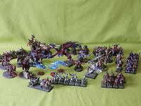 WARHAMMER PAINTED CHAOS ARMY - MANY UNITS TO CHOOSE FROM