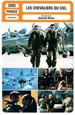 FICHE CINEMA : LES CHEVALIERS DU CIEL - Magimel,Cornillac 2005 Sky Fighters