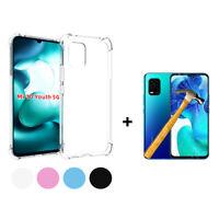 Funda gel TPU silicona anti golpe Xiaomi Mi 10 Youth Edition + Cristal Templado