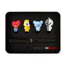 LLamy X BT21 Fountain Pen Edition Set 1 - KPOP BTS TATA, CHIMMY, KOYA, VAN