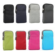 UK Sport Travel Casual Fanny Pack Belt Clip Waist Shoulder Bag Mobile Phone Case