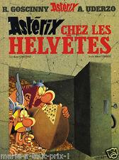 Astérix chez les Helvetes - BD René Goscinny et Uderzo livre Hachette