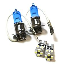 For Hyundai H-1 H3 501 100w Super White Xenon Low/Canbus LED Side Light Bulbs