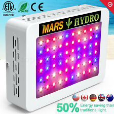Mars 300W LED Grow Light Kit Hydro Full Spectrum Indoor Plant Veg Flower Medical