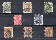 Alemania Imperio Valores del año 1902-4 (CI-442)