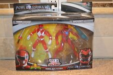 "Saban's Power Rangers Movie Then and Now Red Ranger 5"" Action Figure Set (GA)"