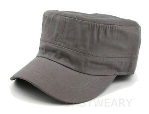 Men Women Army Cap Cadet Military Patrol Castro Hat Golf Driving Summer Baseball