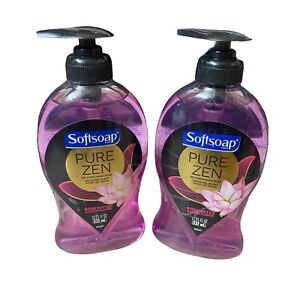 2 SOFTSOAP PURE ZEN ROSEWATER & LOTUS FLOWER RELAXING HAND SOAP