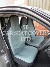 TO FIT A TOYOTA HIACE  VAN,2005,SEAT COVERS,WATERPROOF GREY CANVAS S+D £29.99