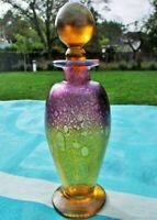 Flacon de parfum ancien en verre André Sanders France Antique perfume bottle And