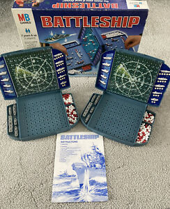 MB Games Battleships The Classic Game Of Naval Strategy  2-players 1996