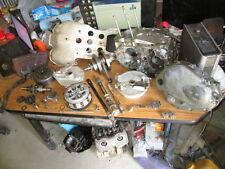 75 Honda SL250 XL250 Stator Flywheel Clutch Crankcases Skid Plate Etc Parts Lot
