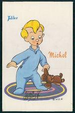 MICHEL c1950 original vintage postcard Chocolats Tobler Wald Disney