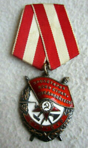 UdSSR Rotbannerorden mit Nummer 444611 Staatliche Münzstätte