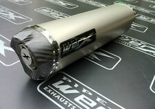 Suzuki GSXR 1000 K1 K2 K3 K4 Titanium Tri Oval, Carbon Outlet, Exhaust Can